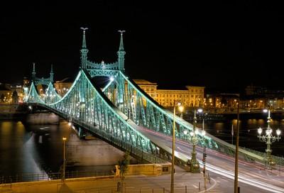 Liberty Bridge-Danube River