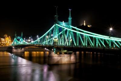 Liberty Bridge-Liberty Statue-Gellert Hill-Danube River