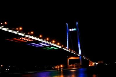 2ND HOOGHLY BRIDGE AT NIGHT