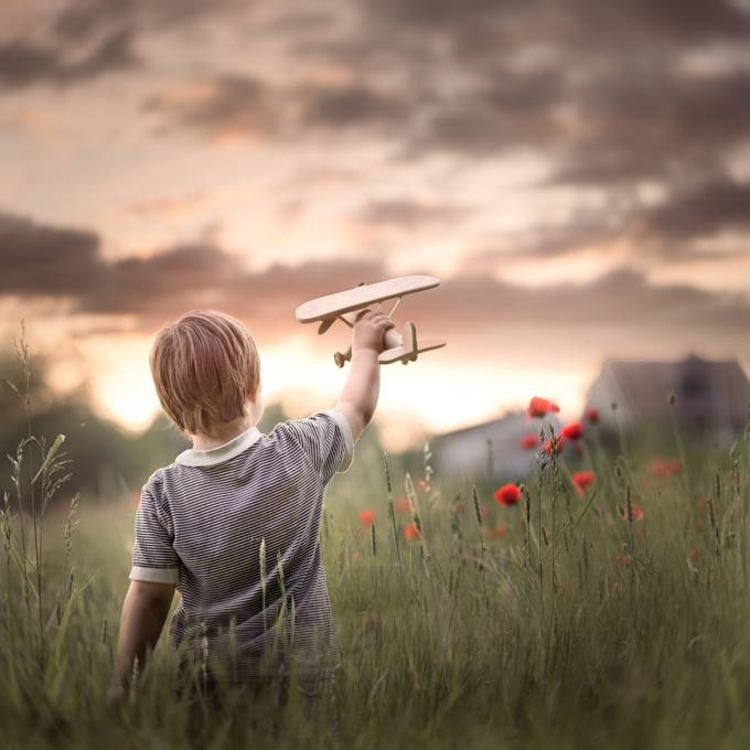 when I grow up by Iwona - Kids With Props Photo Contest