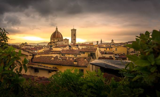 Duomo at Stormy Sunset by AMills - This Is Europe Photo Contest