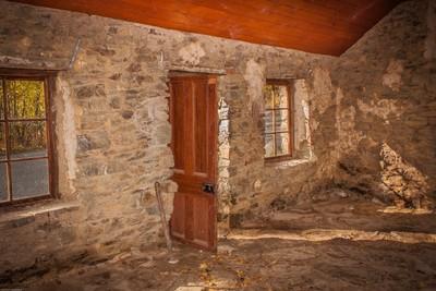 Stone cottage, St Bathans, New Zealand