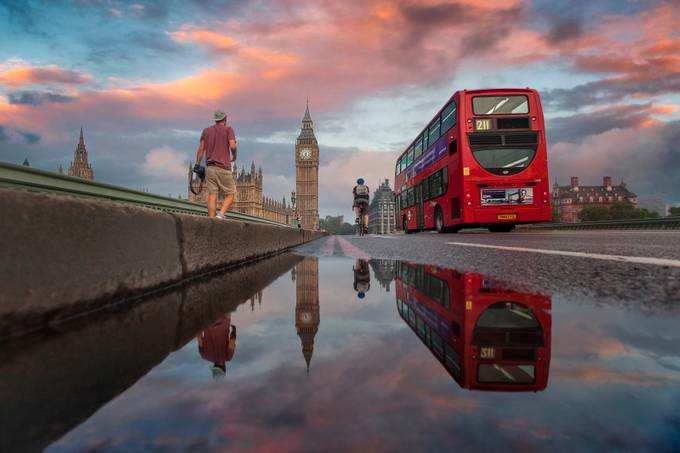 Westminster Reflection by bengreenphotography - London Photo Contest