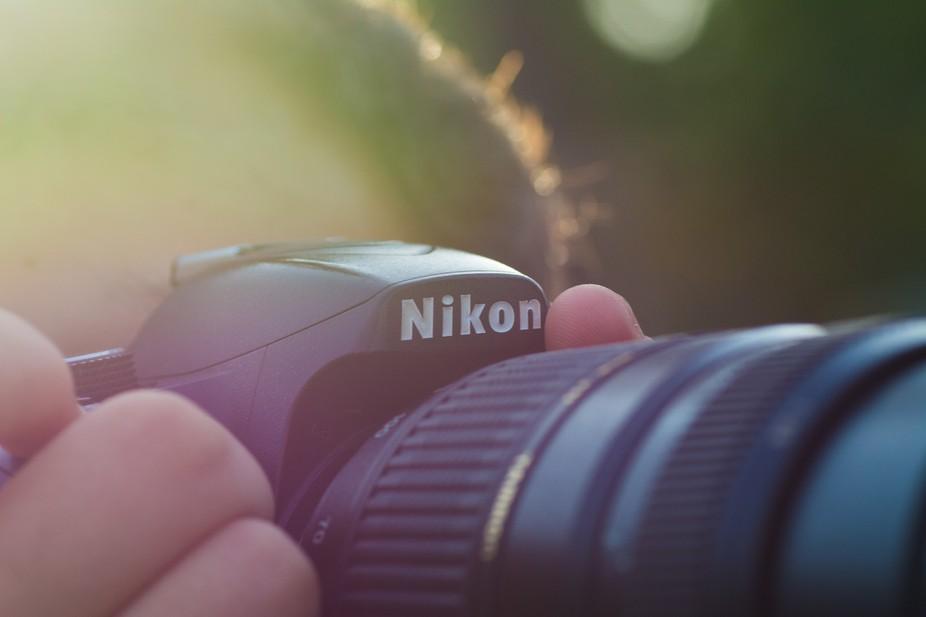 Abstract colored Nikon