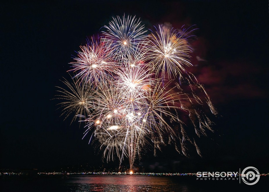 4th of July in Coeur d\' alene Idaho is a sight to see.