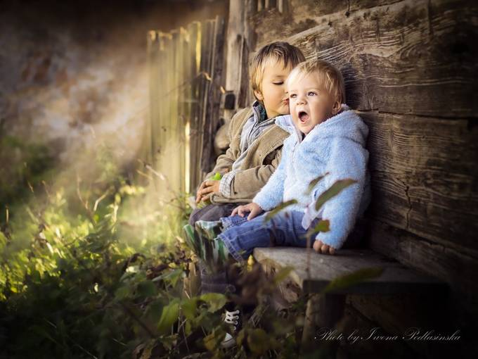kiss by Iwona - Babies Are Cute Photo Contest