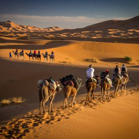 Journey to Erg Chebbi