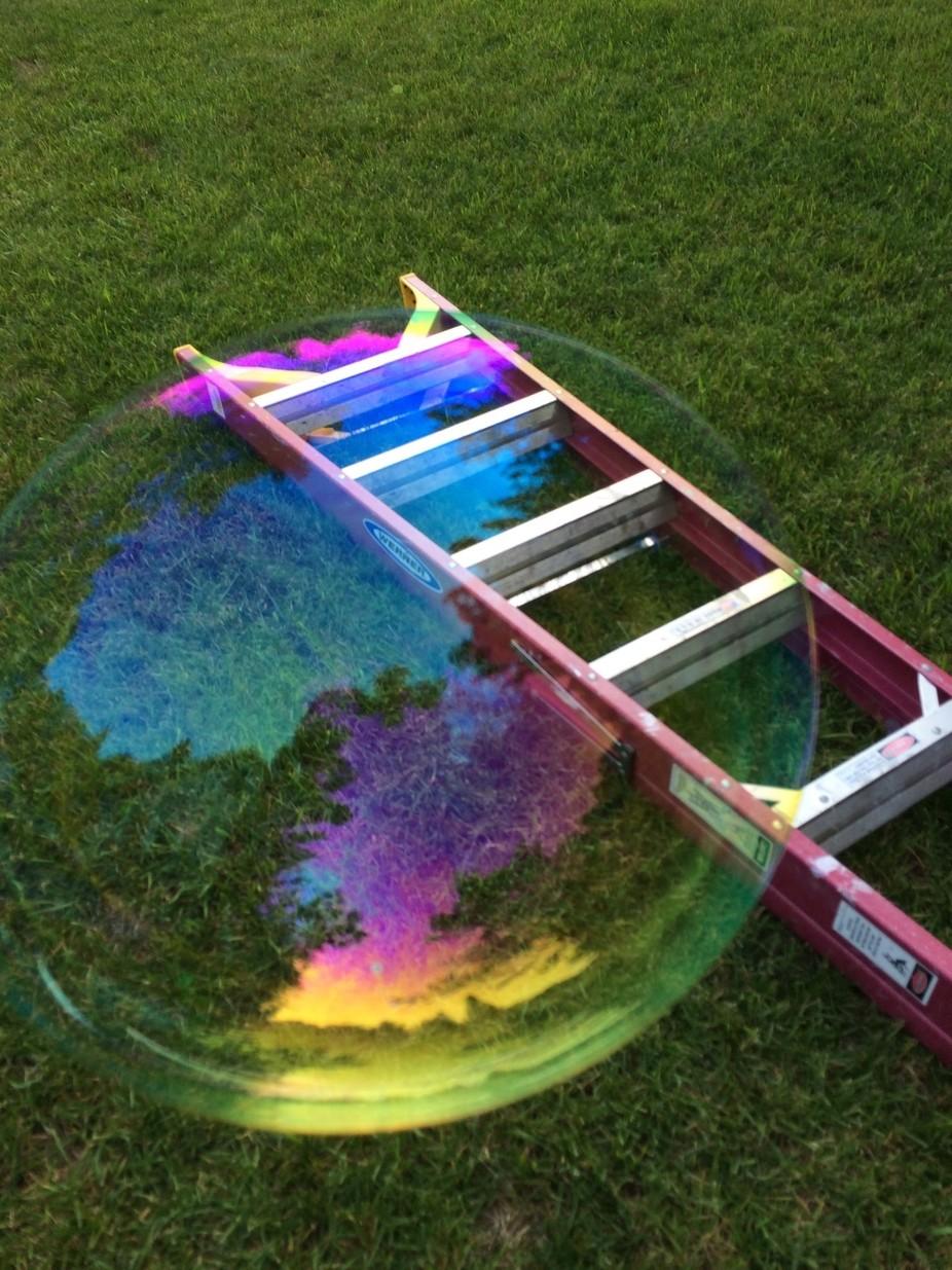 Bubble & ladder