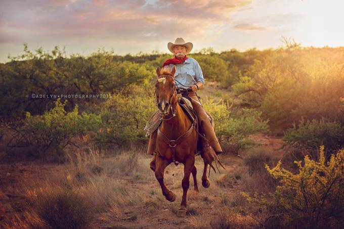 cowboy poet by adelynbaber - People And Animals Photo Contest