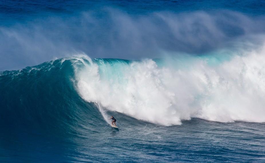 Jaws beach in Maui
