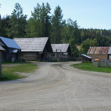Barkerville, British Columbia after closing