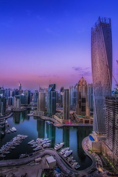 Dubai Marina, U.A.E.
