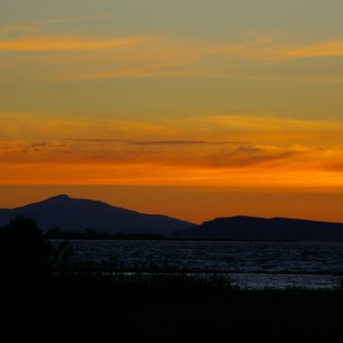 another Parksville Sunset