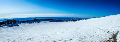 Crater on Mt Rainier