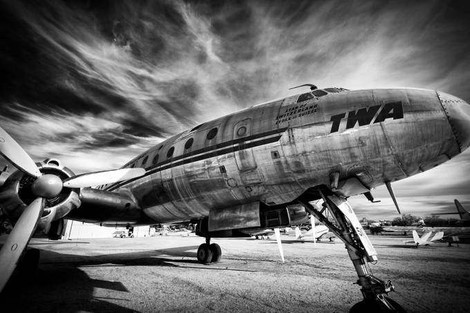 Connie in Retirement by jaredweaver - Aircraft Photo Contest