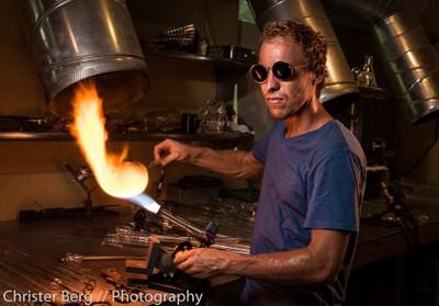 Jonathan, Glass Artist