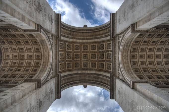 Arc De Triomphe by jeffcooneyphoto - Classical Architecture Photo Contest