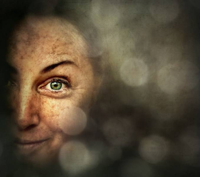 Knowing by jojoxena - Freckles Photo Contest
