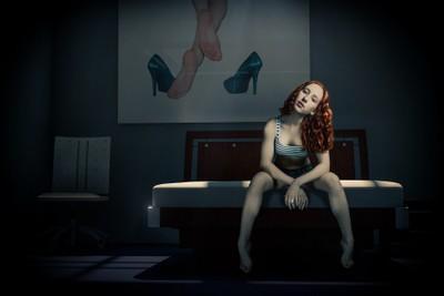 Model Lovefotografie in the Bedroom