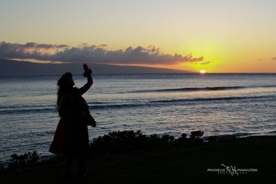 Hula at Sunset