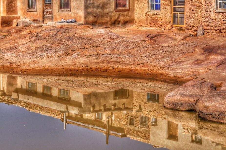 Taken in the pueblo at Acoma Pueblo in New Mexico