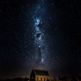 This image is from my recent trip to NZ. A portrait of milky way perpendicular over the Church of Good Shepherd. I did not do much changes to the...