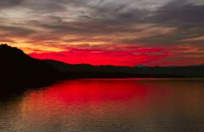Knysna sunset, South Africa