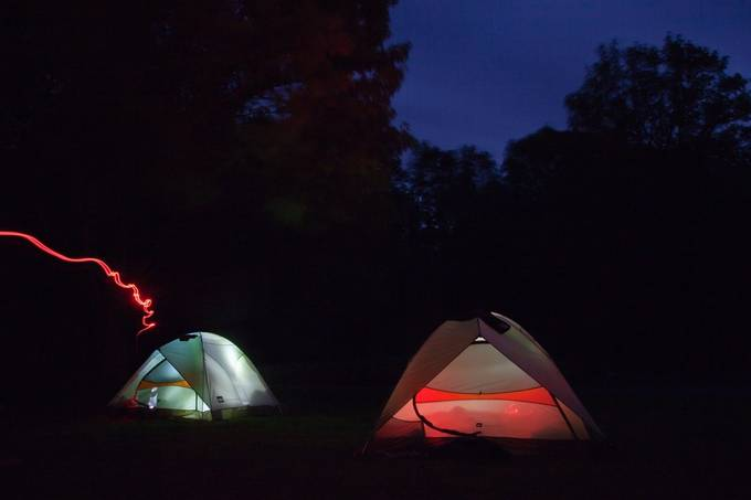 Light Painting by scottheister - Outdoor Camping Photo Contest