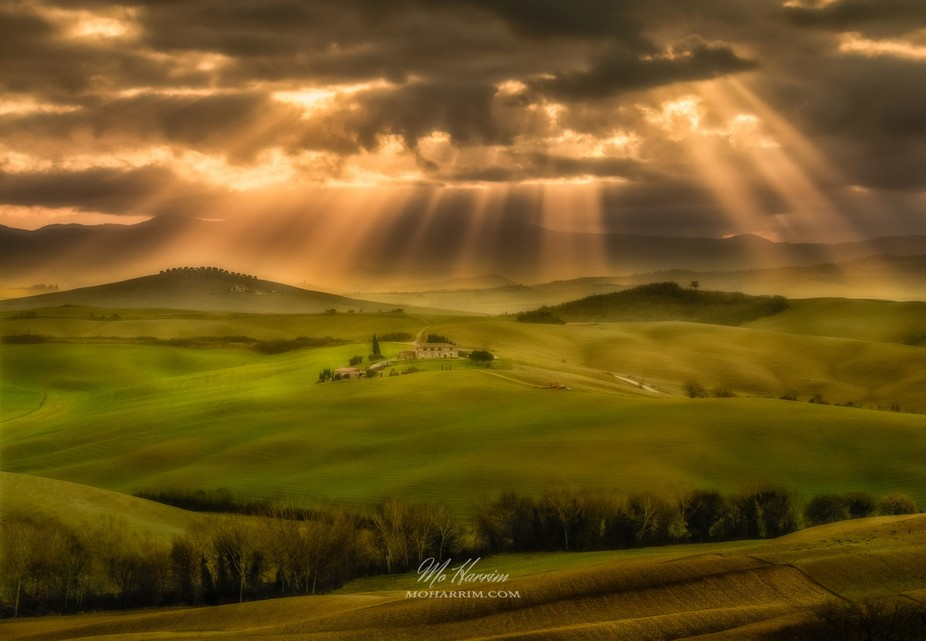 A real unreal Tuscany Scene! One Real Photo, no composite here :)