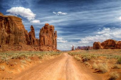 Through Monument Valley