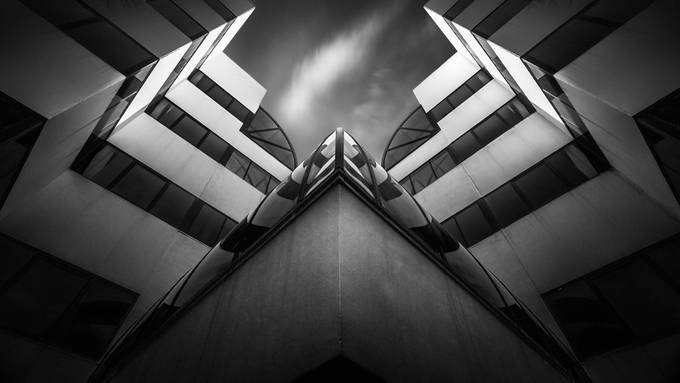 Colossus by FredGramoso - Structures in Black and White Photo Contest