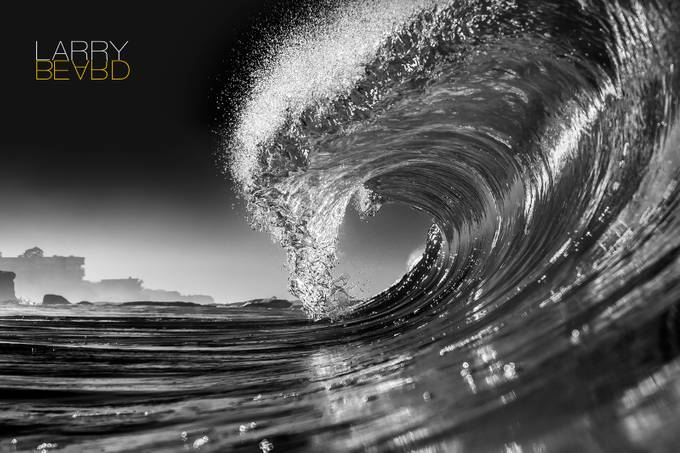 The Curl by larrybeard - The Water In Black And White Photo Contest