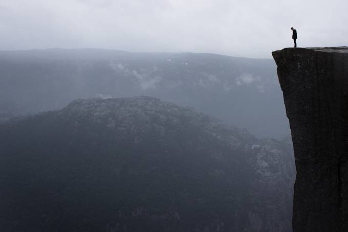 Preikestolen by mmarriuss - People In Large Areas Photo Contest