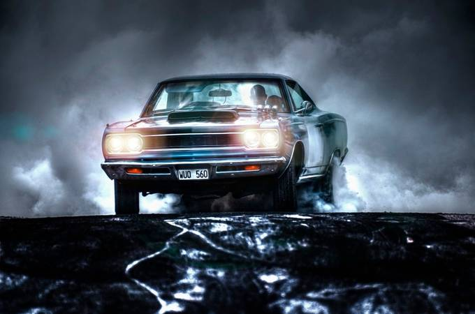 The night rider 2 by AlexanderArntsen - My Favorite Car Photo Contest