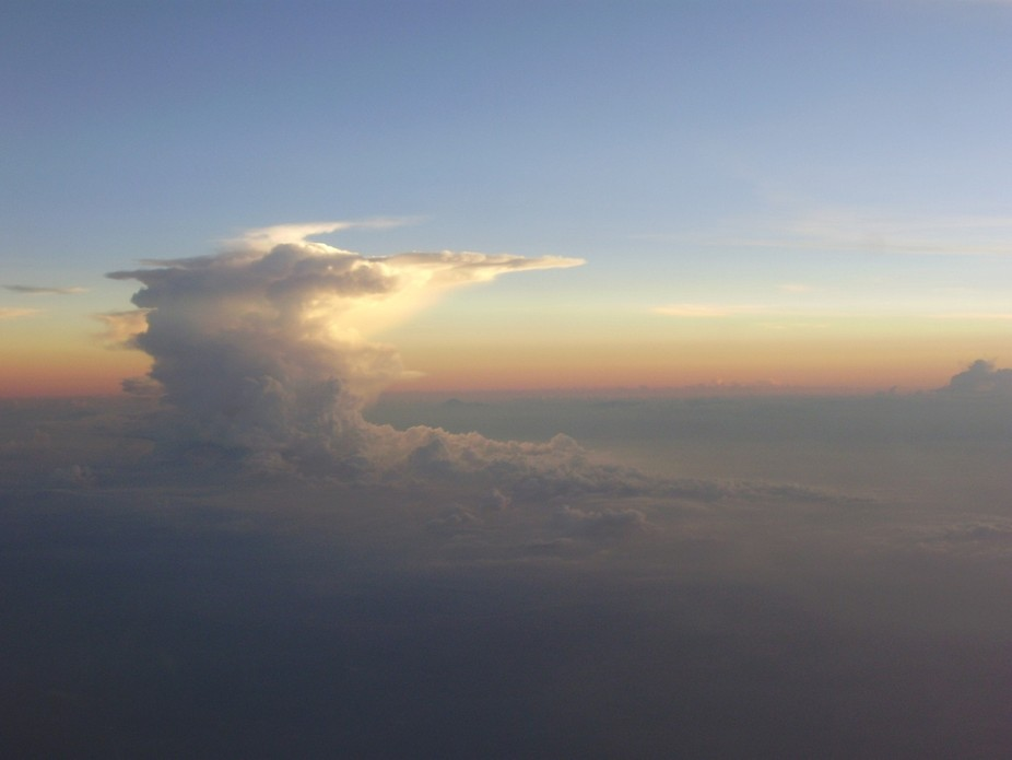 Taking it from above, I stand on amazement of this beautiful creation of God.