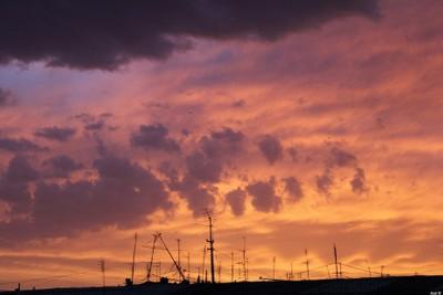 A very beautiful sunset..
