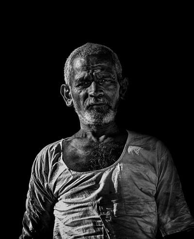 BW - Old Man