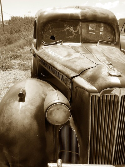 Old Truck In Tombstone, Az.