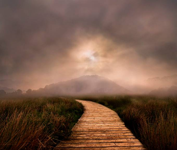 The Path of Mystery by adriansart - Boardwalks Photo Contest