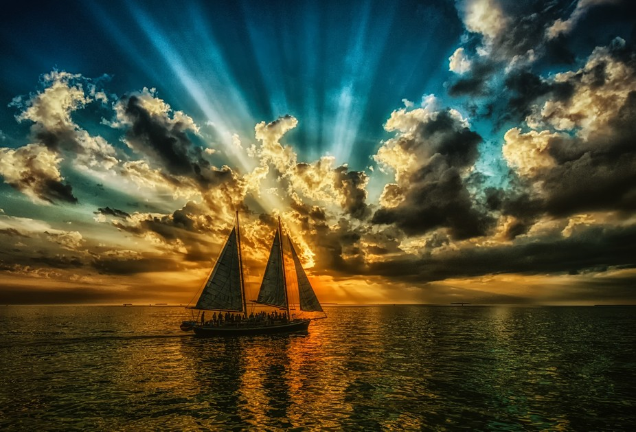 Sailing into Sunset V