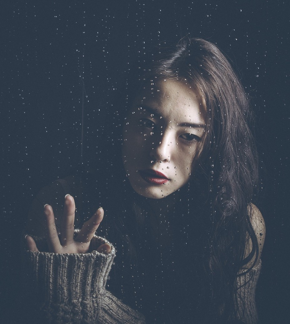 Missing You  by DjCilliers - Dark Portraits Photo Contest