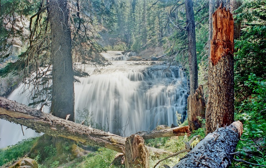 tieton falls is in the rimrock dam area,allmost to yakama on the tieton river.you hike down about...