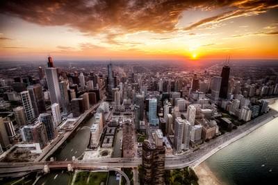 Chicago Sundown