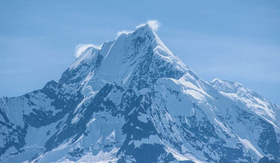 A capture of a majestic mountain in Alaska