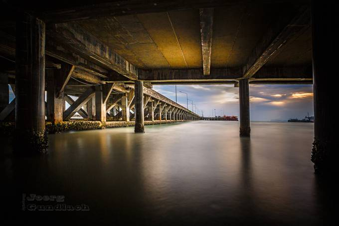 storm under the pier by Joerg - Using Filters Photo Contest