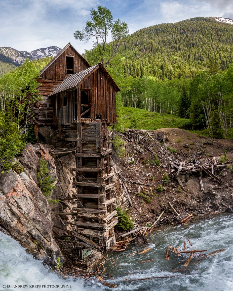 Crystal Mill by andrewkreps - Monthly Pro Vol 16 Photo Contest