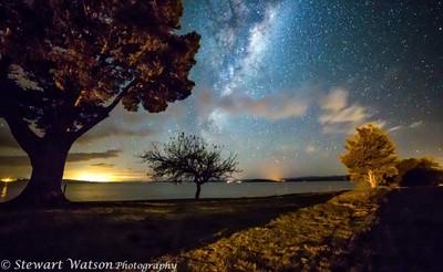 Lake Taupo Milky Way