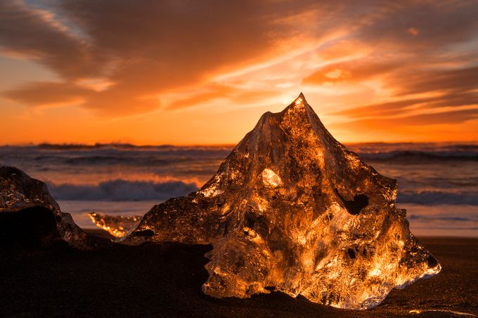 Jewel on the Beach by traceywhitefoot - Landscapes Of Iceland Photo Contest