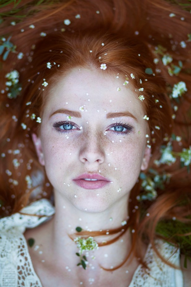 Spring white by majatopcagic - Green Eyes Photo Contest