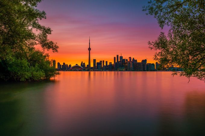 Colors Of The Night by MarvinEvasco17 - Sunset In The City Photo Contest